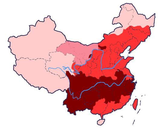 中国人口分布_中国现在人口分布